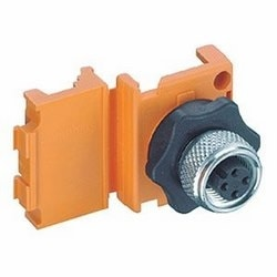 AS-Interface cable connector, used for distribution of connections or as connector: reusable access technology to IEC 60352-6. ASInterface connector 0911 ANC 406 is included with the delivered product