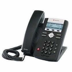 SoundPoint IP 335, téléphone de bureau pour 2-ligne SIP avec HDVoice, intégré 2-port commutateur Ethernet 10/100 et support PoE. Plate-forme partenaire compatible : 20. N'inclut pas la prise d'alimentation