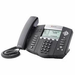 SoundPoint IP 550, symbole Keycaps, téléphones de bureau SIP 4 ligne IP avec voix HD. Plateformes compatibles partenaire : 20. N'inclut pas la prise d'alimentation.