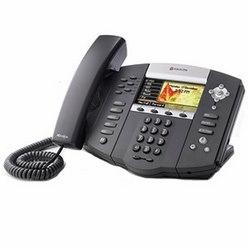 SoundPoint IP 670 6-ligne couleur affichage IP téléphone avec HD Voice. Plateformes compatibles de partenaire, 20. Navire avec 48V 0,4A adaptateur d'alimentation universel avec fiche d'alimentation de NA.