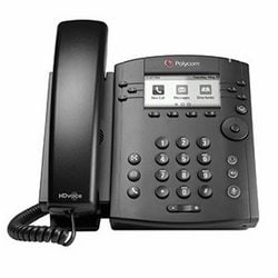 VVX 300 6-line Desktop Phone with HD Voice, Polycom WW PoE, Business Media Phones