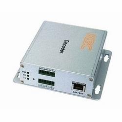 Décodeur vidéo/données de MPEG4. Unité de bureau, US power plug.