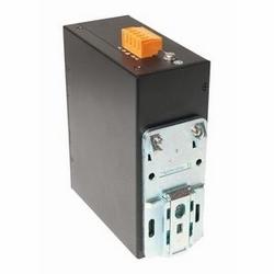 Commutateur Ethernet industriel, de couche 2 non managées, 8 électrique 10/100Mbps LAN ports. 12-36 entrée V CC. Montage sur rail DIN. Fiche d'alimentation aux États-Unis.