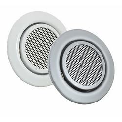 SpeakerMount for FlexMount Cameras, Matte Chrome