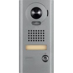 """Portier vidéo Station, montage en Surface, IP adressable, 24 v AC/DC, 500 milliampères gâche électrique, 4-3/16"""" largeur x profondeur 1-1/8"""" x 8-1/2"""" hauteur, pour système"""
