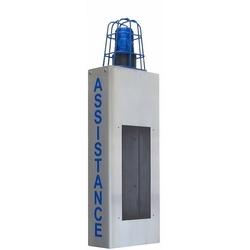 ADA Wall Mount enceinte avec Cage lumineuse et Assistance lettrage