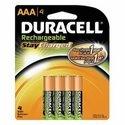 AAA DURACELL RECHARGEABLE     BATTERY BT04270 PK 4