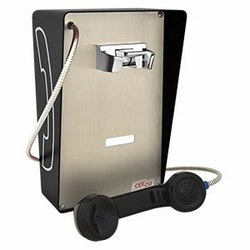 Weather and Vandal-resistant Autodial Phone. These Attraractive Yet Sturdy Units are Designed for Indoors or Partially Protective Outdoor Areas