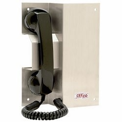 Rugged Autodial Phone withAdvance Features, Magnetic Handset and Hookswitch. This Unique Design is a Perfect Fit for Areas that Require a Recess or Slant Mounted Phone