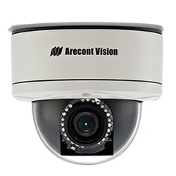 5 MP MegaDome(R) 2 2592x1944, 9-22 mm F2.0, 14 fps, Remote Zoom, Remote Focus, P-iris, IR, IP66, IK-10, 12 V DC/24 V AC/PoE, PoE Heater, SD card, CorridorView(TM), Scaling