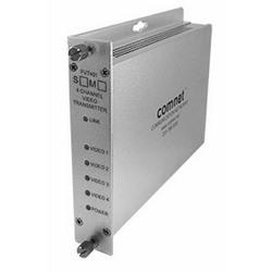 4-canal encodé numériquement transmetteur vidéo, SM, fibres 1