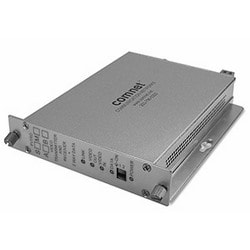 Bi-directional encodé numériquement récepteur vidéo ou Sync + données émetteur-récepteur, MM, fibres 1