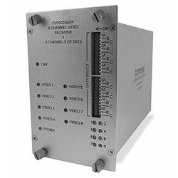 8-canal encodé numériquement transmetteur vidéo + 8 canaux de données bidirectionnel