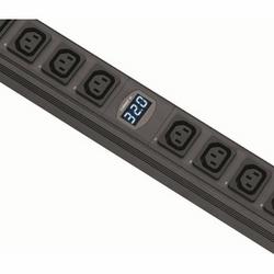 MD Metered, Vertical PDU, 20 x C13 / 4 x C19, 32A, 3m cord, EN60309 Plug