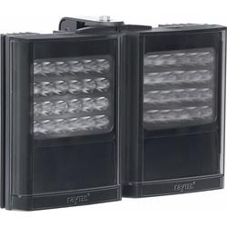 "Infrared LED Illuminator, 2-Panel, 12 to 24 Volt AC/DC, 96 Watt, 850 NM Wavelength, 10 to 120 Degree, 11"" Length x 9"" Width x 3"" Depth, Black"