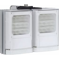 VARIO w4 CCTV Lighting, Adaptive Illumination, 2 panels with 3 Angle Options. 12-24V, white-light