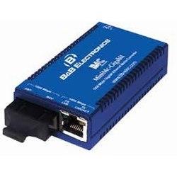 Convertisseur de média gigabit MiniMc, 1 TX, 1 SSLX-SM 1490/LONG-SC, avec adaptateur secteur