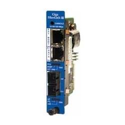 10/100/1000 Mbps managed optical demarcation module iMcV-Giga-FiberLinX-III, TX/SFP