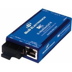 Démarcation optique compact CPE périphérique IE-MiniFiberLinX-II/LastGasp/Telco, TX/SSFX-MM10-SC géré par 100/1310 Mbits/s