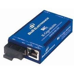 Miniature media converter, TX/SSLX-SM1550-SC, industrial grade 10/100/1000 IE-Giga-MiniMc