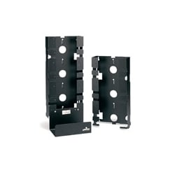 Cord Management Basic Mounting Frame Unit, 300-Pair, Wall Mount, Sheet Metal, 16 Gauge Steel, With Bottom Cable Tray