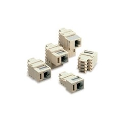 2-Position Modular Adapter, Converts (2) 66-clip Contacts Into a 6-position, 2-conductor Modular Jack