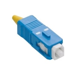 Fast Cure SC Fiber Optic Connector (Blue), Single-mode, for 900µm and 3mm Application
