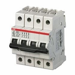 Mini circuit breaker S200U UL489, 4 pole K trip, 50 amp