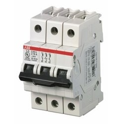 Mini circuit breaker S200U UL489, 3 pole Z trip, 50 amp
