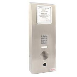 Wall Mount Low Power haut-parleur téléphone avec clavier, pour High Use et Abuse des zones cette opération mains libres nécessitent