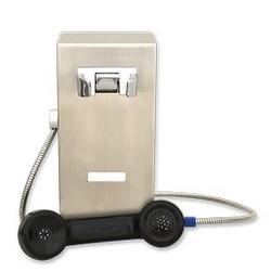 Solide, Compact Mini mur Mont Autodial téléphone avec des fonctionnalités avancées, petit/Durable Design pour environnements difficiles