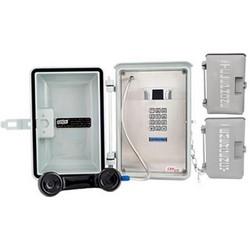 Gris téléphone résistant aux intempéries avec clavier de numérotation Standard, pour toutes les Conditions météorologiques ou à l'intérieur pour une Protection supplémentaire