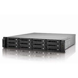36 TB, 2U Rackmount iSCSI/NAS, 12-bay Intel i3, 10GbE Ready, Raw 36 TB (12x3 TB Enterprise Drive), Intel i3 Dual-core CPU, 4 GB RAM, 4-LAN, USB3.0, Redundant Power, Pre-configured