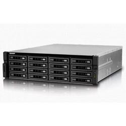 NAS 16 baies iSCSI, 3U, SATA 6G, 4LAN, compatible 10G, bloc d'alimentation redondant, Intel Xeon E3-1200 v3 3,4 GHz à quatre cœurs, RAM 4 Go (max. 32 Go) DDR3 ECC