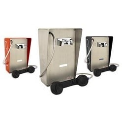 Weather-resistant Autodial Phone. These attraractive yet sturdy units are designed for indoors or partially protective outdoor areas.