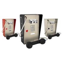 Téléphone résistant aux intempéries avec pavé numérique, appuyez sur le bouton numérotation automatique, appareil robuste pour l'extérieur à l'intérieur ou partiellement protecteur
