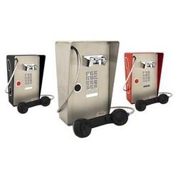 Téléphone résistant aux intempéries avec pavé numérique, appuyez sur le bouton numérotation automatique, une conception robuste pour l'extérieur à l'intérieur ou partiellement protecteur
