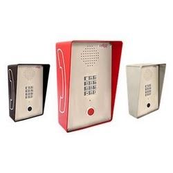Rouge haut-parleur résistant aux intempéries avec clavier, Attraractive/robuste pour l'extérieur à l'intérieur ou partiellement protecteur