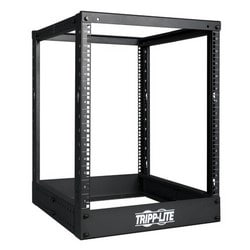 13U SmartRack 4-Post Open Frame Rack - Organize and Secure Network Rack Equipment