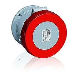 IEC 60 309 International Pin and Sleeve Receptacle, 100 Amp, 3 Pole, 4 Wire, 3-phase 480 V