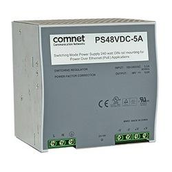 48 V DC @ 5 alimentation de l'ampli pour le CNGE2FE8MSPoE