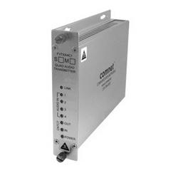 Récepteur Audio channel 4 + fermeture Contact bi-directionnel, MM, 1 fibre