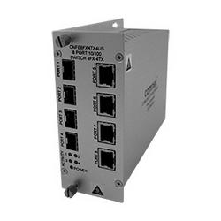 Commutateur, Port 8, 100 Mbits/s, 4 fibre, cuivre 4, SFP vendu séparément