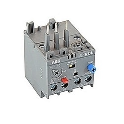 3 pole electronic overload relay with 0.8-2.7 amp setting range