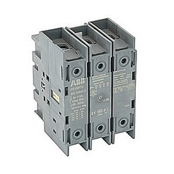 3 pole, 100 amps rated at 600 V AC, UL 98, door mounted open non-fusible disconnect switch