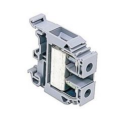 Gray, par bloc d'alimentation avec 12 mm espacement, 85 avec qu'amp UL courant nominal vis de raccordement qui accepte la gamme de fils AWG UL 18-6