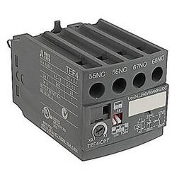 4 pole OFF-départ différé électronique avec tension de circuit de commande 24-240V et 1 n'et 1 contacts auxiliaires NC NF(Z) contacteurs et de contrôle des relais