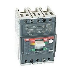 pôle 3, 25 a évalué à 240-480V AC, disjoncteur boîtier moulé de Tmax avec un dispositif de déclenchement magnétique thermique et 65kA au courant nominal de 480V AC interruption