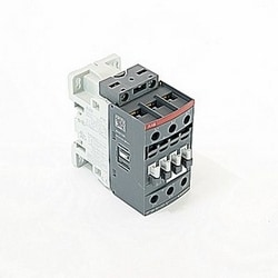 3 pole, 50 amp, non-reversing across the line contactor with 48-130V AC/DC coil and no auxiliary contacts