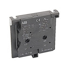 2 pole auxiliary contacts with 1 NO and 1NC contact for EK contactors